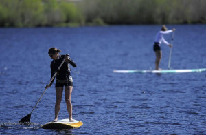 Paddle board, canoe or Kayak on Clark Lake