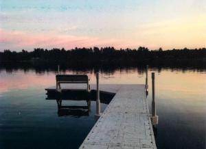 Proposed WaveArmor floating dock at Clark Lake