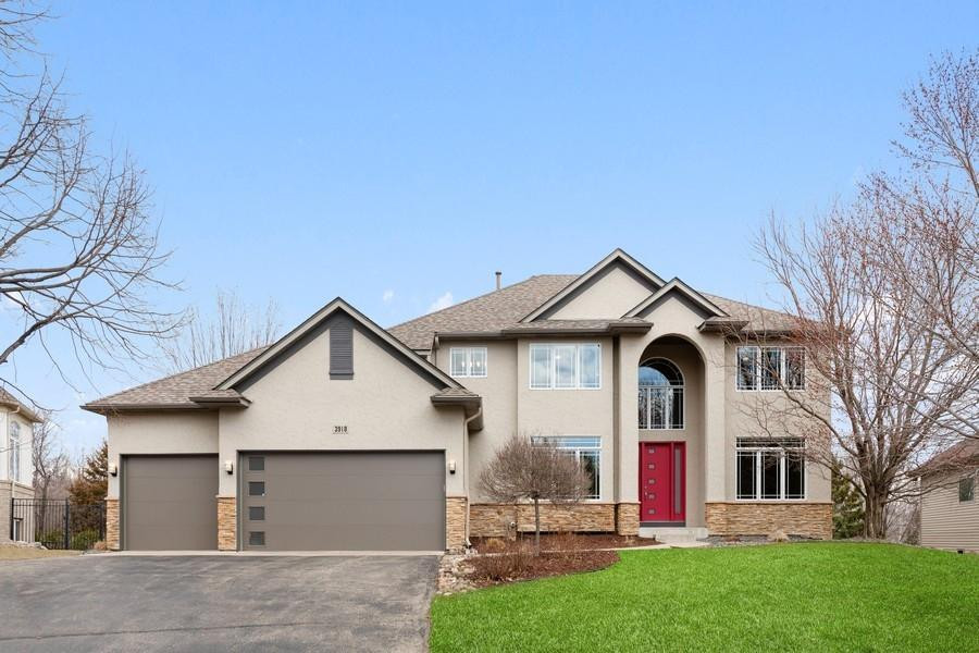 Gorgeous two story home on a cul-de sac with a walk-out lower level