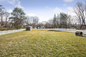 Can we talk about this double lot?! Almost .5 acres!