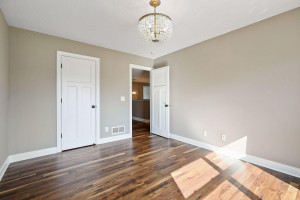 Stunning hardwood floors carried throughout the upper level!