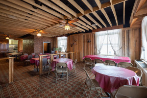 Spacious upper level is perfect for meetings, banquets, or special events