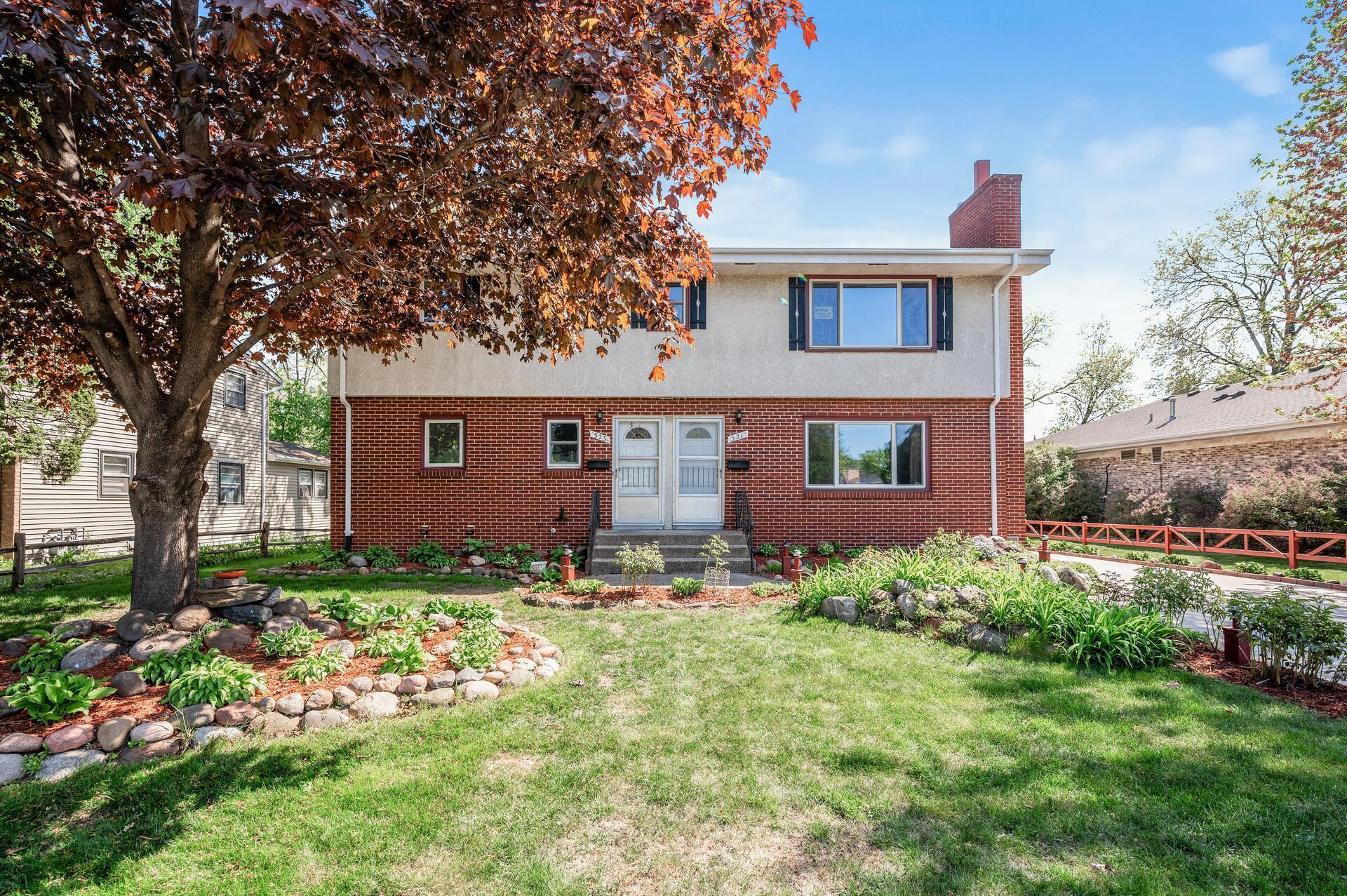 Cute, well maintained! up down duplex with potential in basement.