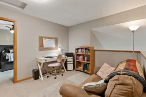 The vaulted ceilings add to the open feeling