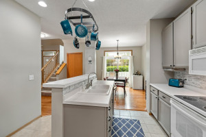 wonderful kitchen layout with ample counter space