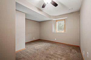 4th bedroom(office, workout room, craft room?) with egress.