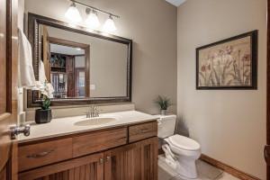 Main Floor half bath because who wants guests using your bathroom?