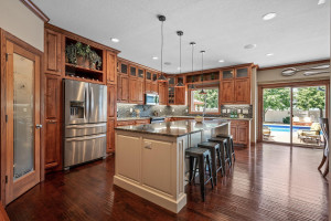 Stainless Steel appliances adorn this outstanding kitchen!