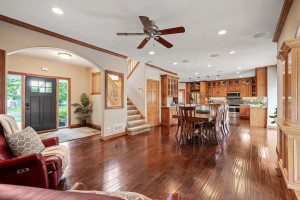 Large open floor plan makes it easy for entertaining!