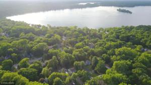 Overhead show proximity to Bald Eagle Lake