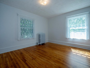 Bedroom two has a large closet. Birch hardwood floors through out 2nd floor.