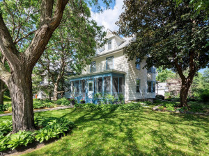 Park like front and back yard has been lovingly cared for over 50 years. Steel siding and newer roof. Unfinished third floor has 2 dormers and four other windows that add plenty of natural light.
