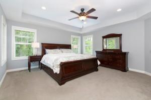 Fantastic master suite! Tons of natural light!