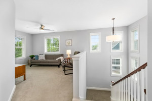 Beautiful family room space - perfect for a sitting room, office space, kids play area