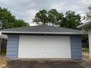 twenty threeDouble garage with newer GDO and service door keyed same as house