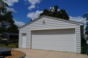 Nearly 1000 sq. ft. garage with heated floor
