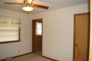 Possible bedroom, formal dining or office area