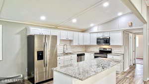 All new appliances, cabinets and granite countertops