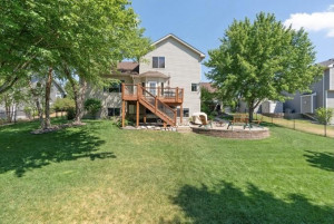 This large backyard lot is fully fenced! Pet friendly home!