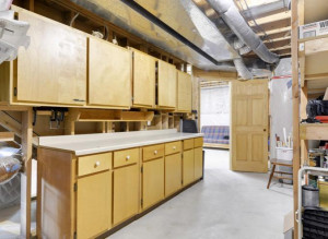 Since we are all home more, why not have a great area of storage for your projects!