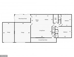 Main Level Floor Plans - 1010 W Center Street