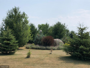 That rock was where the basement is now. Many children and grandchildren enjoyed climbing on the rock over the years.