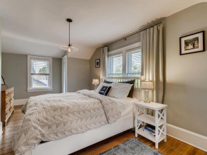 Upper level Main bedroom with two closets