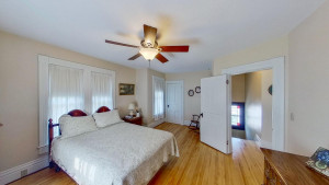 Spacious Upper Level Bedroom with Hardwood Floors