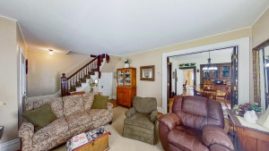 Wood Floors and Tall Ceilings Throughout the Home