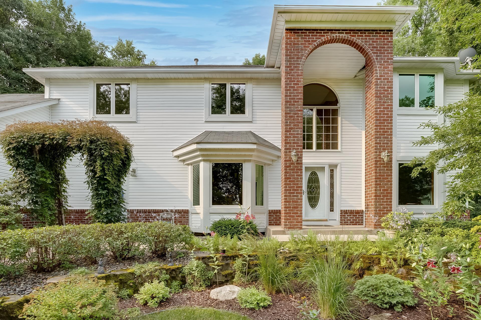 Located in Wayzata Public Schools, 3600 Alvarado Lane N, Plymouth, has six bedrooms and five bathrooms (hard to find five bedrooms and three baths on the upper level).