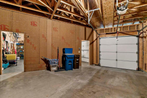 The third stall garage is oversized, at 22 x 23, and a two-story ceiling.
