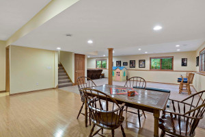 Huge lower level space for entertaining and family fun!