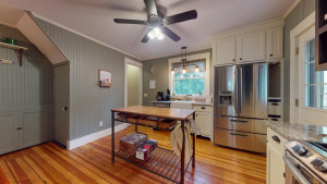 Spacious Kitchen leads to 2nd Floor Laundry