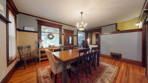 Dining Room w/ Beautiful Windows and Tall Ceilings