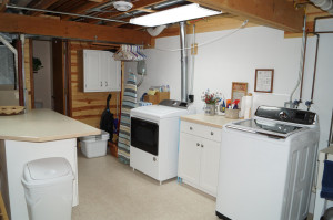Laundry room, hookups also on main floor if preferred