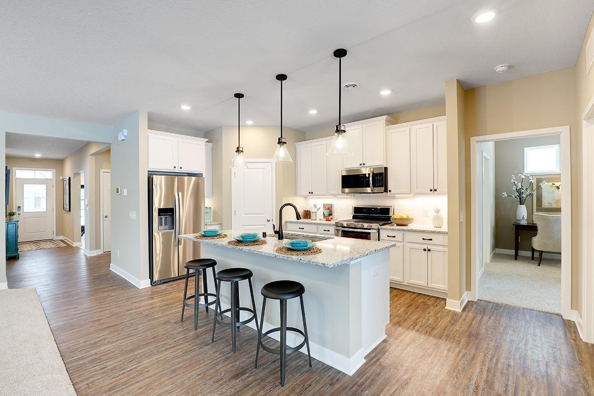 Modern Kitchen - Photos are of model, finishes may be different