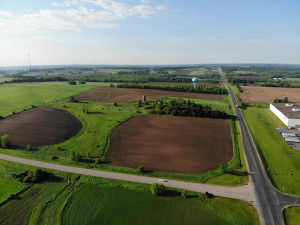 Over 77 acres of raw land in Hammond Village conveniently located on County Rd T!