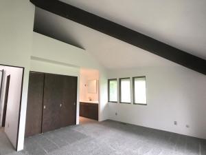 Master Bedroom , Vaulted, Beamed Ceilings