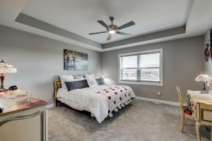 The owners bedroom has great size. And make sure you check out the major walk-in closet.