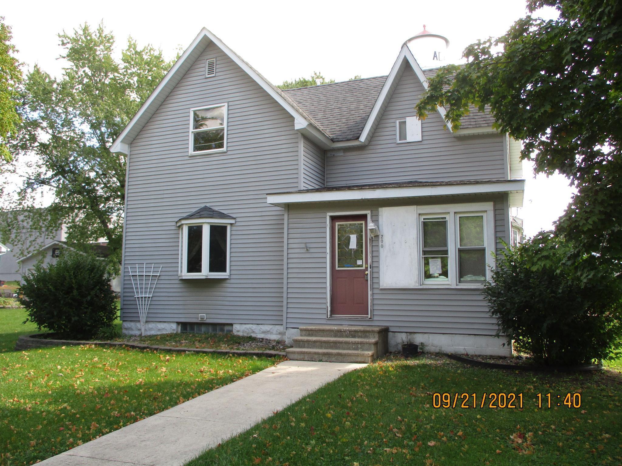 200 NW 4th Street, Adams, MN 55909