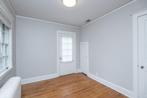Fourth upper level bedroom with access to upper deck.