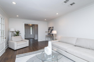 Large room that flows into the beautiful front foyers.