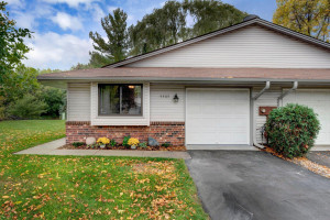 Updated Twin Home on Quiet Cul de Sac with Tranquil Setting