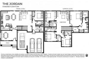Market rendering of the standard Jordan floor plan.