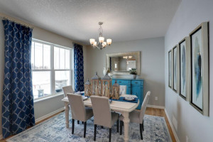 This flexible floor plan provides multiple uses for this large flex room, including a formal dining room, sitting room, toy room or just about anything else you can think of! *pictures are of model home, actual colors may vary.
