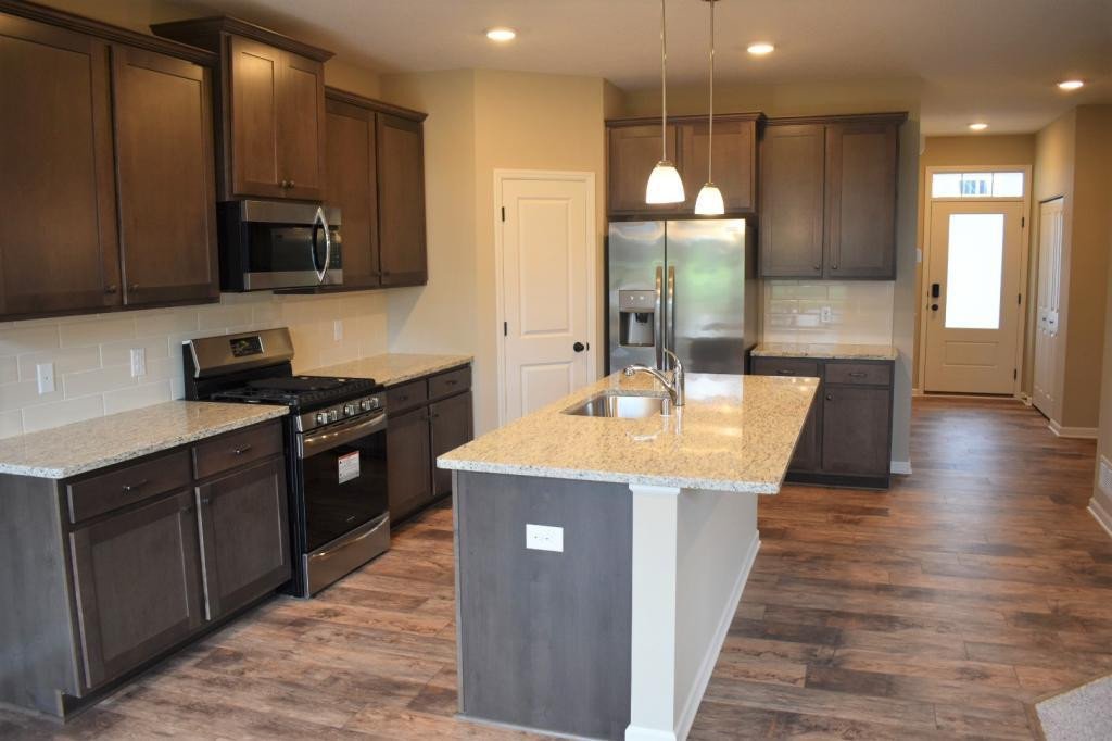 Welcome to the Harrison, an open concept new construction home!