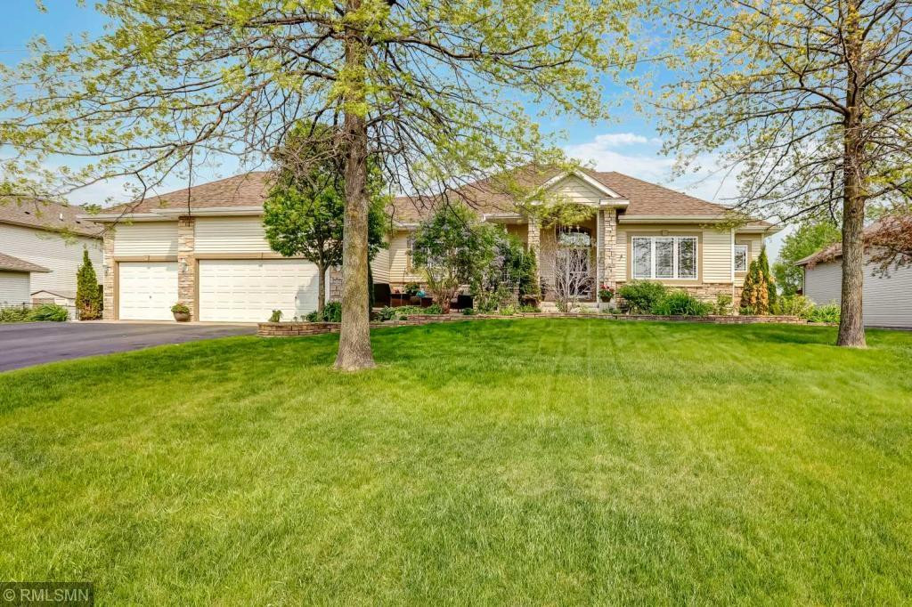 Stunning and open walk-out rambler impeccably maintained with many updates and outstanding features. Lots of new! Furnace and roof in 2017, deck and stairs in 2016, main floor carpet 2018 and much more!