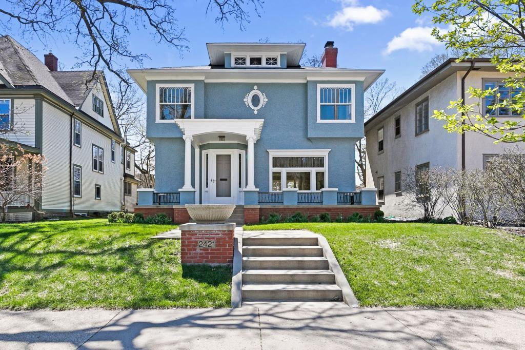 Welcome to 2421 W. 21st St. in the beautiful Kenwood neighborhood. This gorgeous 5 bed/4 bath home has been beautifully updated throughout to add modern amenities while still maintaining its historical elements.