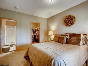 Three large bedrooms. Large walk-in closets and direct access to 3/4 ceramic bath.