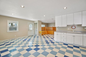 Studio features open plan, loft-like space